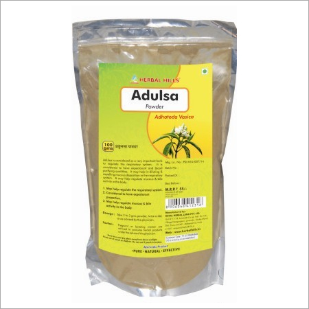 Adulsa Powder for Blood Purifying