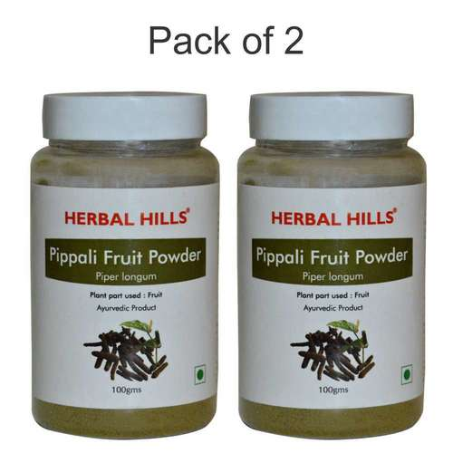 Ayurvedic Pippali Fruit Powder 100gm for Immunity Booster (Pack of 2)