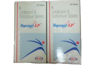 Sofosobuvir Ledipasvir Tablets Natco