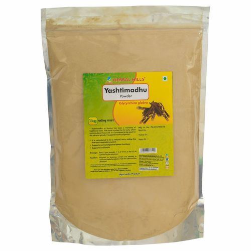 Ayurvedic Yashtimandhu Powder 1kg for Cough & Cold, Immunity booster