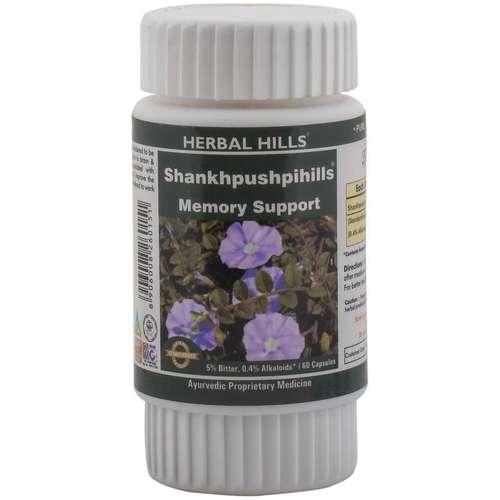 Ayurvedic Medicine for Memory & Concentration - Shankhpushpi 60 Capsule