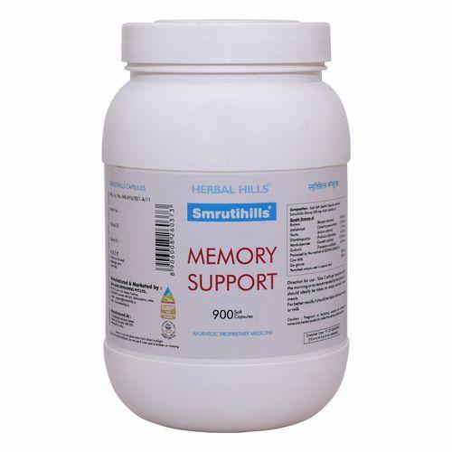 Ayurvedic brain tonic for memory & Concentration - Smrutihills  900 Capsule