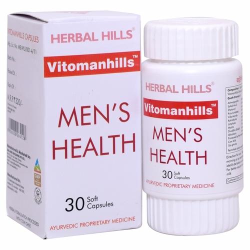 ayurvedic medicines for strength and stamina - Vitomanhills 30 capsule