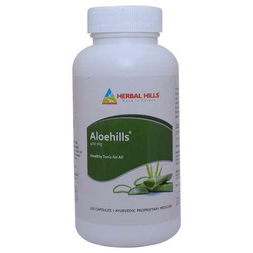 Aloevera capsule for healthy skin & Digestion - Aloehills 120 capsule