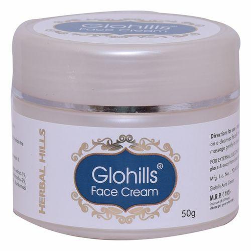 Herbal Skin Care Face Cream - Glohills Face Cream Certifications: Iso