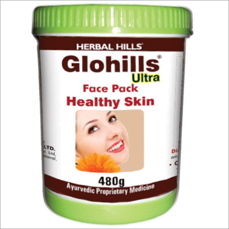 Care Your Skin with Glohills Face Pack 480G