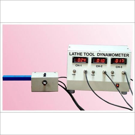 Lathe Tool Dynamometer