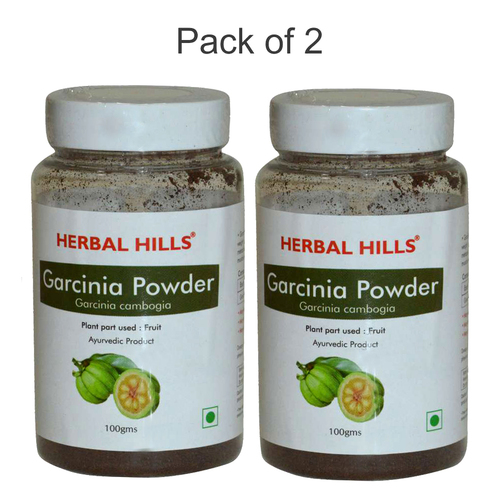 Ayurvedic Garcinia Powder 100gm for Weight Management (Pack of 2)