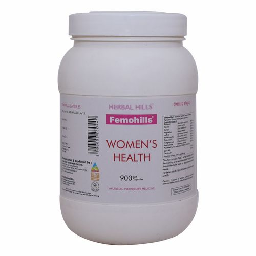 Best Ayurvedic Medicine for Women's Health - Femohills 900 Tablets