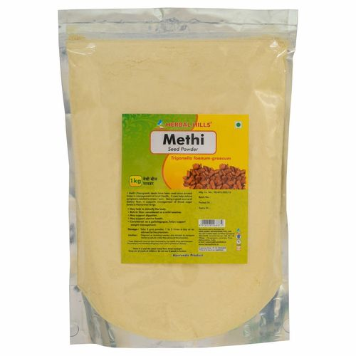 Ayuredic Methi seed Powder 1kg for Joint pain Relief & Blodd Sugar Control
