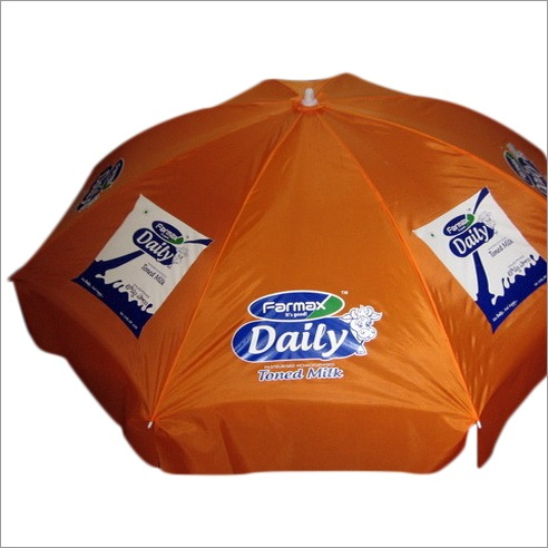 Corporate advertisement   umbrella of Milk brand