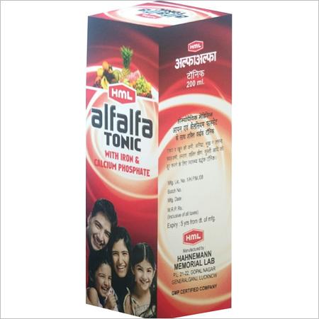 Homeopathic Alfalfa Tonic