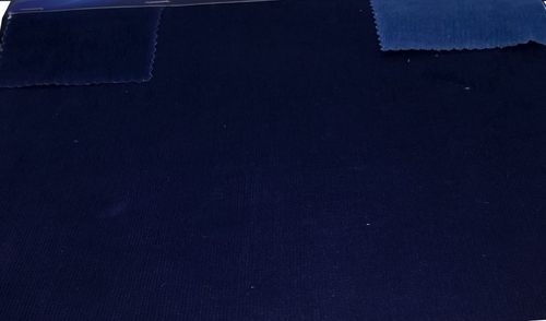 21 Wales Cotton Stretch Corduroy ( Indigo )