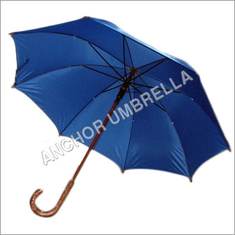 Wooden Blue Umbrella