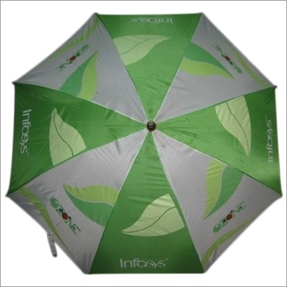 Corporate Advertisement Umbrellas of Infosys