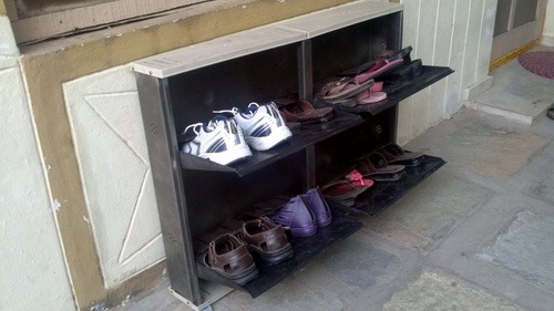 SHOE RACK 2+2 DOOR