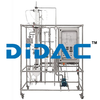 Automated Batch Distillation Pilot Plant