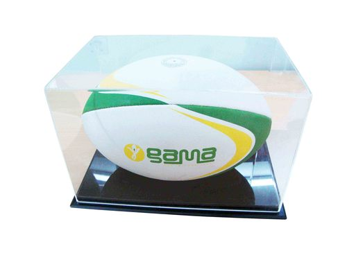 Rugby Acrylic Presentation Case 'Perspex'