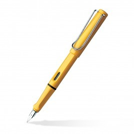 Lamy Safari Yellow Broad Fountain Pen