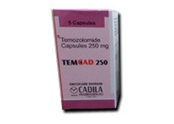 Temozolomide 250 mg Cadila TemCad
