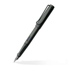 Safari Matte Black Fine Fountain Pen