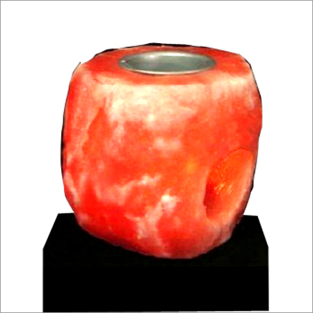 Natural Aroma Salt Candle Holder
