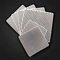 Square Ceramic Pressed Filters
