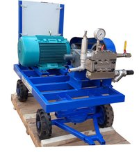 Hydrostatic Pressure Triplex Style Plunger Pump- 115LPM, 120 BAR