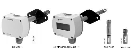Siemens Duct Mounted RH Sensor