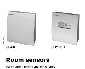 Siemens Room Mounted RH Sensor