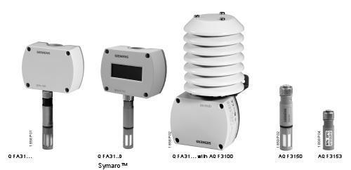 Siemens Room Mounted Temperature Sensor