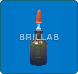 Amber Dropping Bottle Boro 3.3