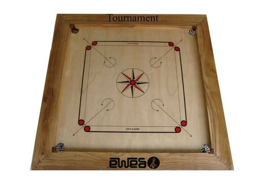 Carrom Board Tournament with 4 inch Natural Border