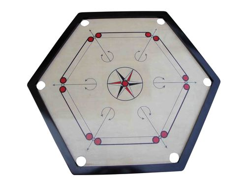 Carrom Board Hexagon Club