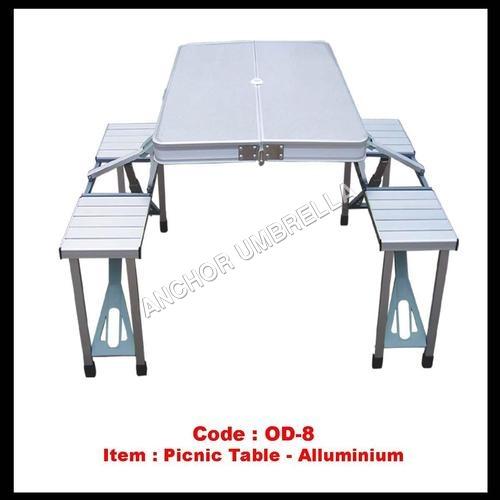 Aluminum Folding Picnic Table