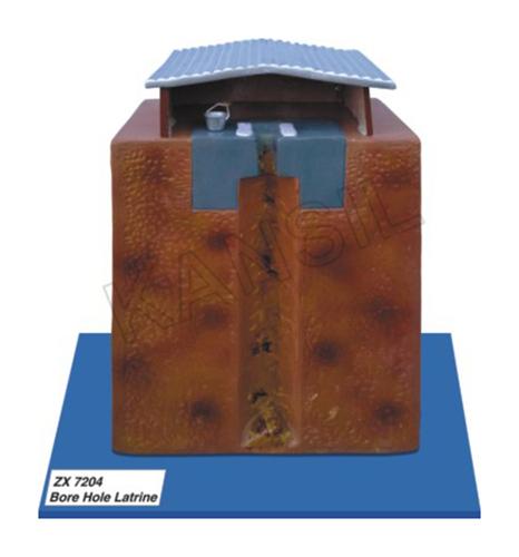 Bore Hole Latrine Model