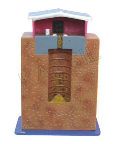 Dug Well Latrine (Pit Latrine) Model