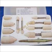 Felt Polishing Kit 17 Pics Set
