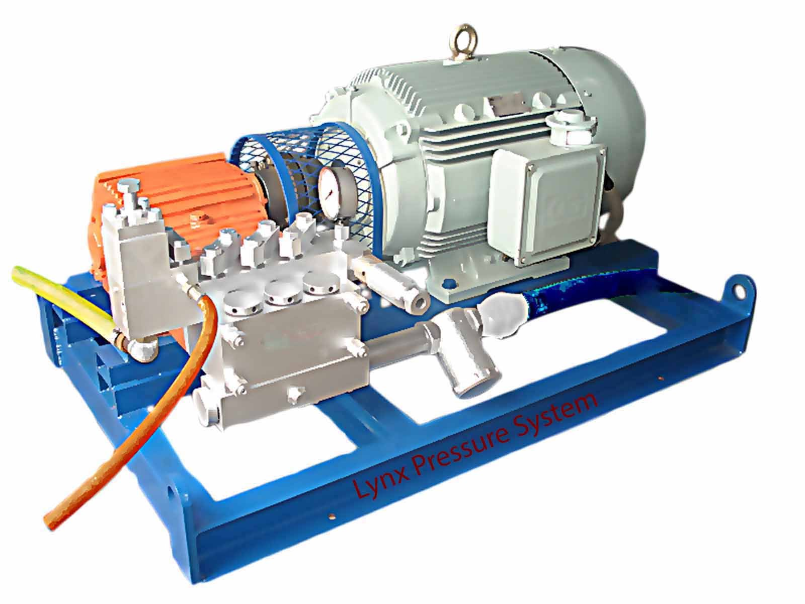 Electric-Diesel Driven Hydrostatic Test Pumps