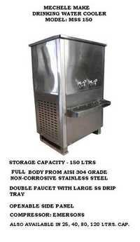 150 Ltr Stainless Steel Body Water Cooler