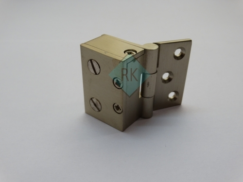 Brass Glass To Wall Shower Hinges