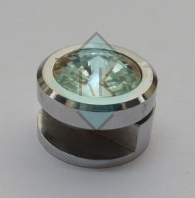 Brass Crystal Fancy Mirror Bracket