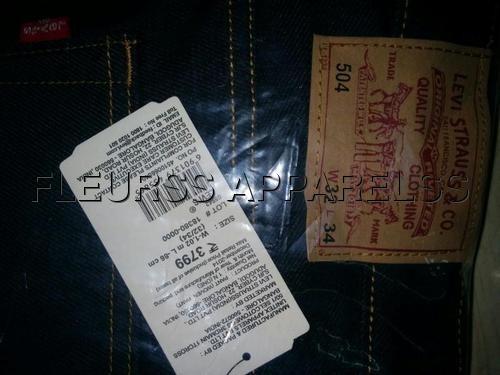 Levis Jeans Surplus Stock