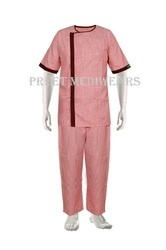 Cotton Patient Gown with Lower