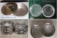 Sieves Set (Pharmacopeia Standard).