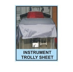 Hospital Instrument Trolley Plastic Sheet