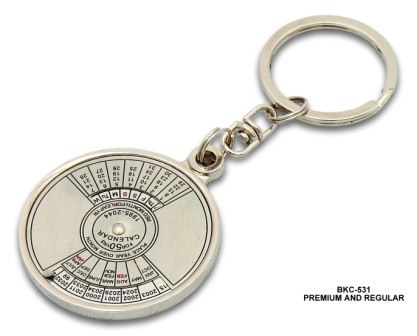 Key Chain with Calendar