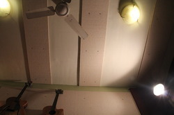Acoustic Treatment on Ceiling