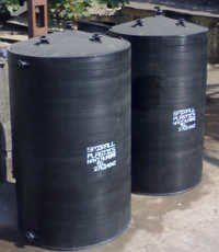 HDPE Vertical Storage Tanks