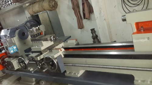 Homemade Lathe Machine
